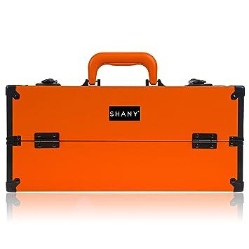 Amazon.com: SHANY Moderno Slim Train Case Organizador de ...