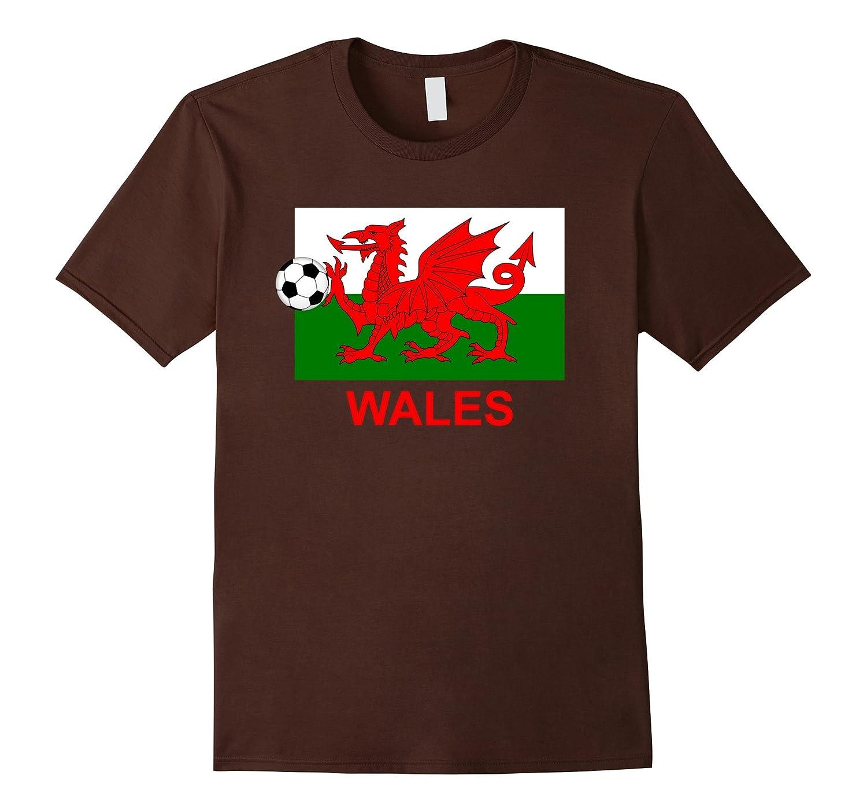 Wales Futbol Soccer Tshirt