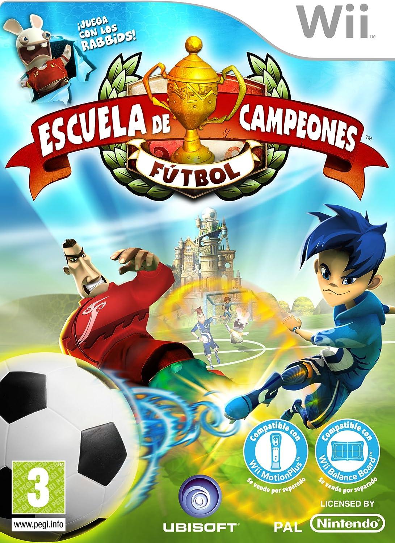 Ubisoft Escuela De Campeones Futbol - WII - Juego (Nintendo Wii, Deportes, UBISOFT, EC (Niños)): Amazon.es: Videojuegos