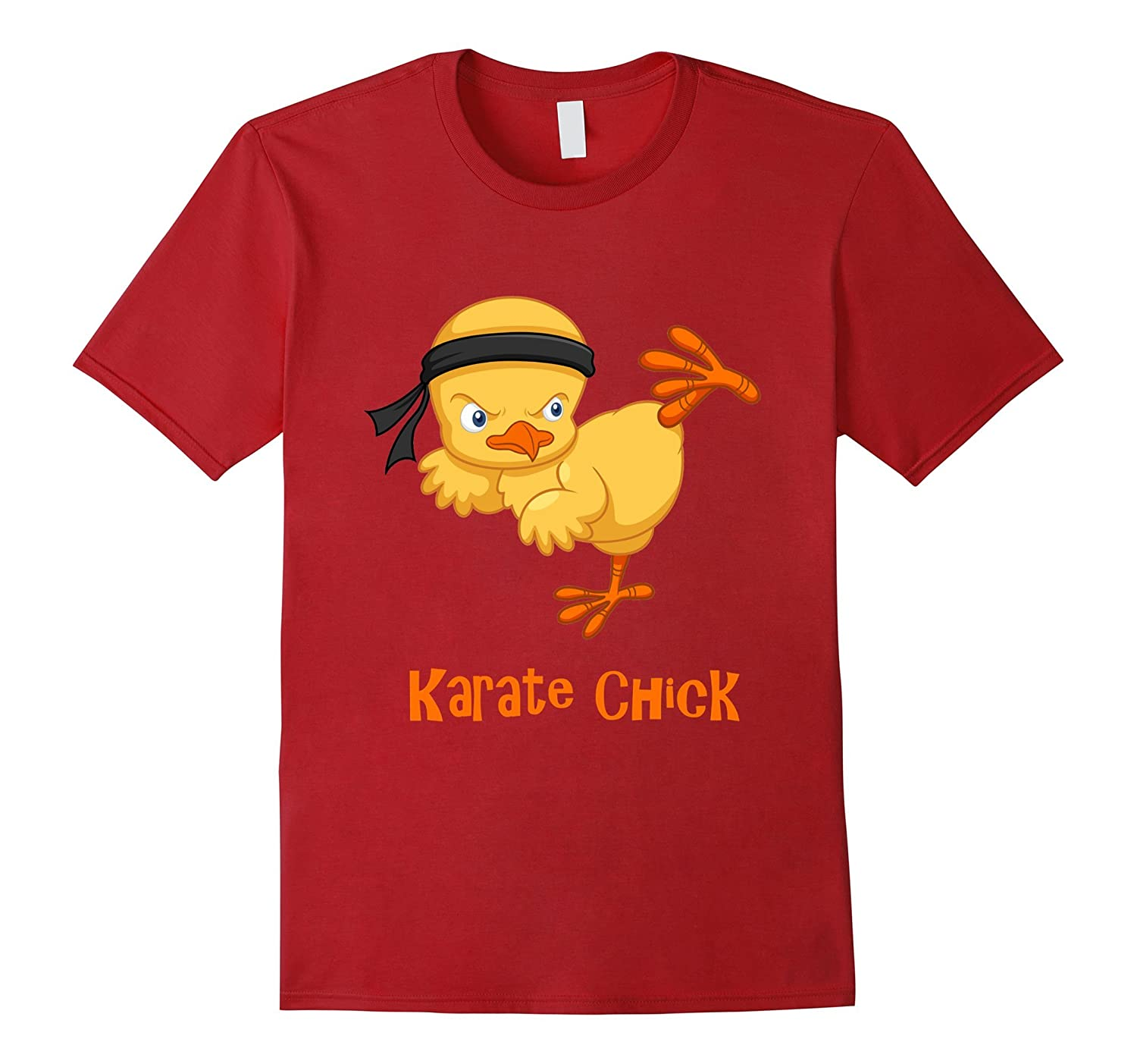 Funny Karate Chick T-shirt for Karate lovers-TH