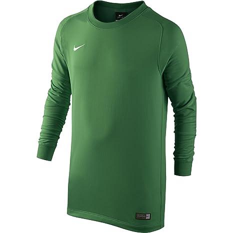51b48009f Amazon.com   Nike Ls Yth Park Goalie II Jersey  Pine Green  (XS ...