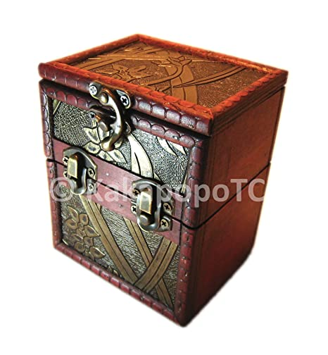 M01a Wood Single Deck And Counter Box Protector Sleeve Storage Trading Cards Tcg Ultra Pro Mtg Magic The Gathering Pokemon Ygo Yugioh Vanguard Lord Of