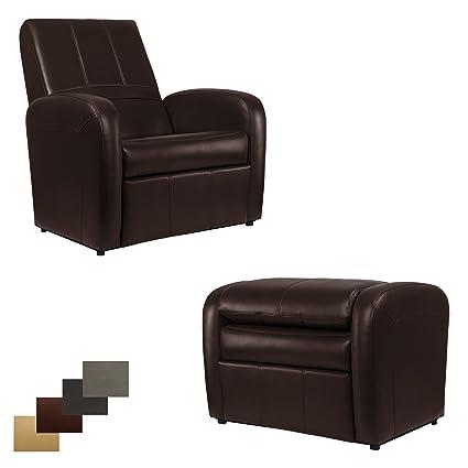 RecPro Charles RV Gaming Chair Ottoman w/ Storage (Mahogany)  sc 1 st  Amazon.com & Amazon.com: RecPro Charles RV Gaming Chair Ottoman w/ Storage ...
