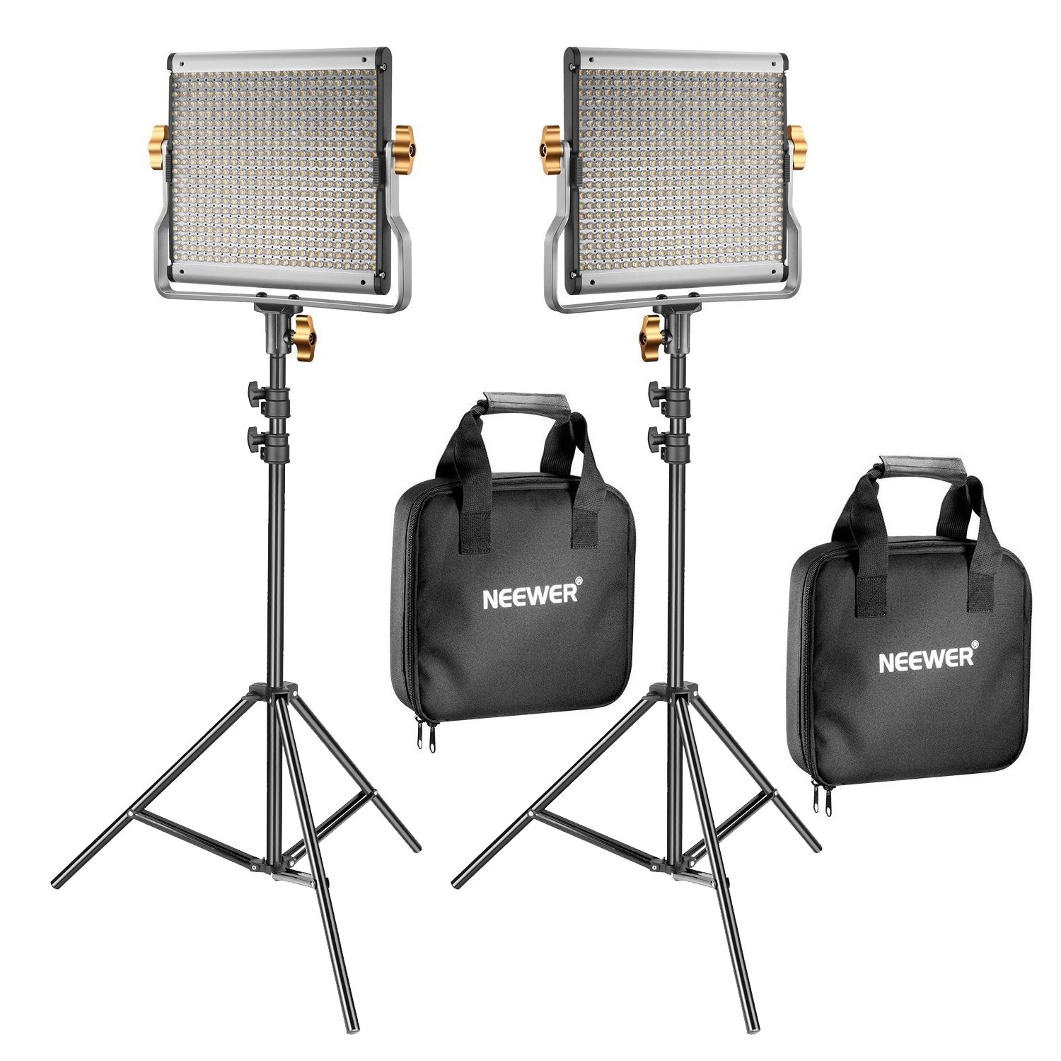 Neewer 2 Pack Dimmable Bi-color 480 LED Video Light and Stand Lighting Kit Includes  sc 1 st  Amazon UK & Amazon.co.uk: Lighting - Photo Studio u0026 Lighting: Electronics ... azcodes.com