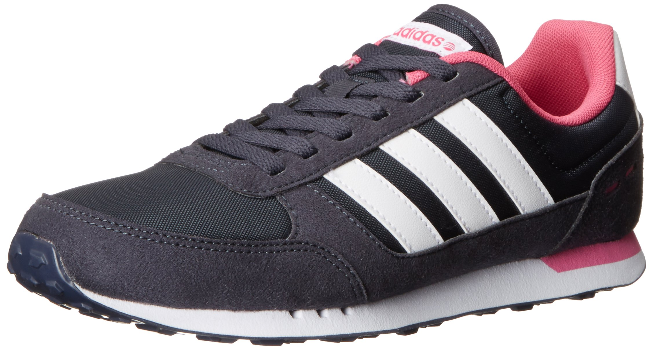 big sale 6b20a 3c15c Galleon - Adidas NEO Womens City Racer W Running Sneaker, New NavyRunning  WhiteBloom, 11 M US