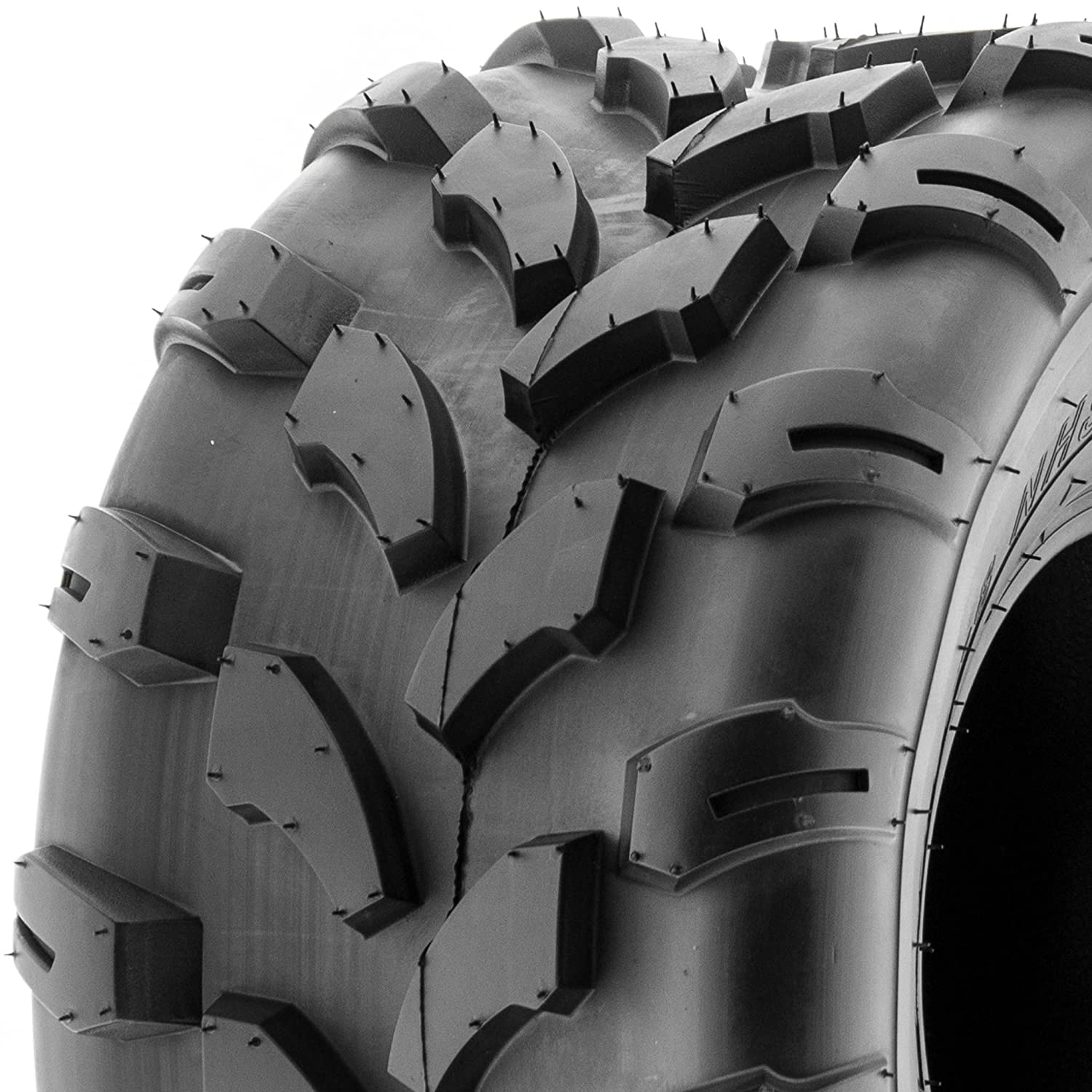 SunF ATV UTV 19x9.5-8 All Terrain 6 PR Tubeless Knobby Replacement Tire A003, [Single] LCF1|A003|199508||x1