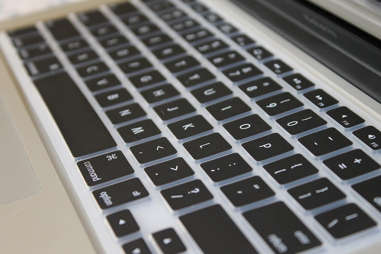 JULY CrystalGuardMB BLACK TPU Keyboard Cover Skin for Macbook AIR 11 A1370 Late 2010 Mid 2011