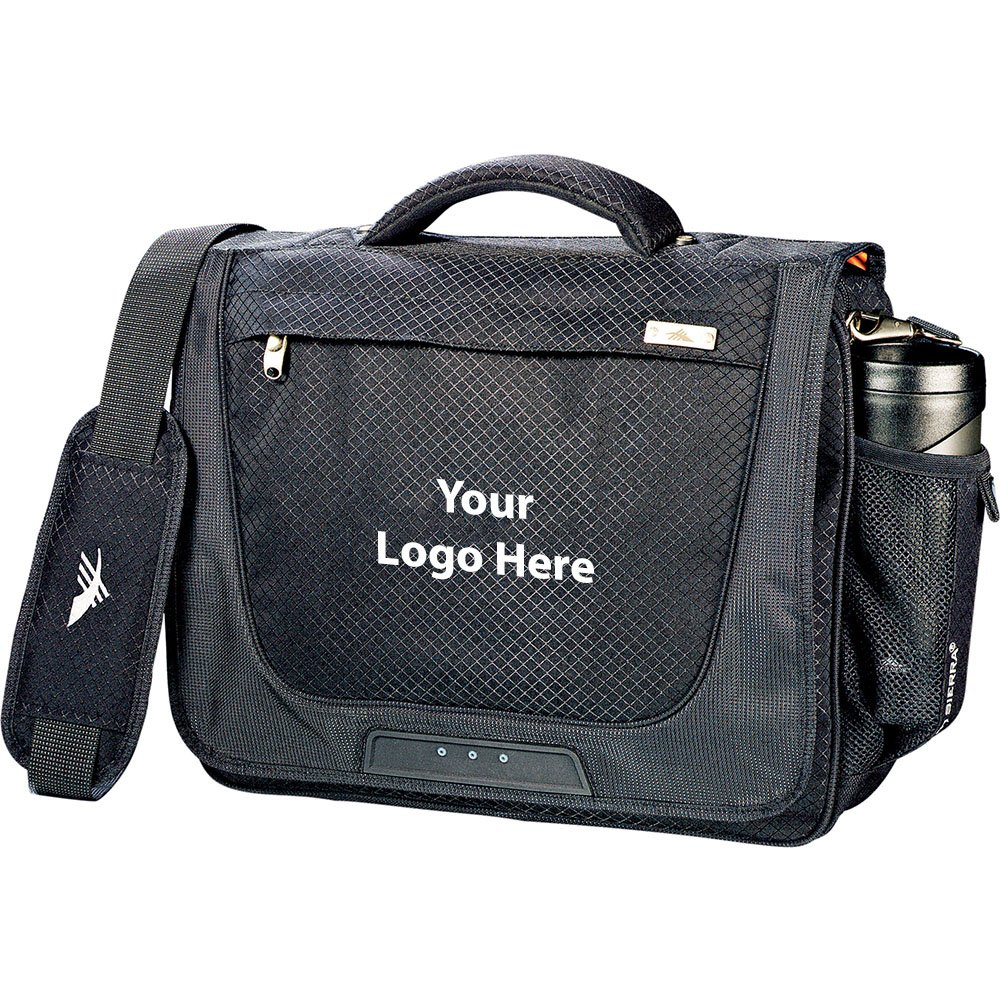 High Sierra Upload 15'' Computer Briefcase - 12 Quantity - $57.50 Each - PROMOTIONAL PRODUCT / BULK / BRANDED with YOUR LOGO / CUSTOMIZED