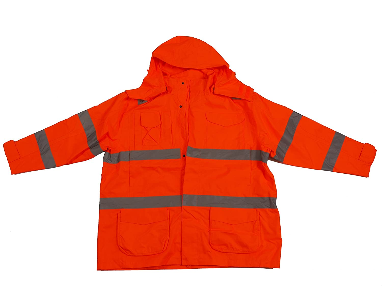 Warnschutzjacke herrenübergrößen étanche conforme à la norme eN 471–orange