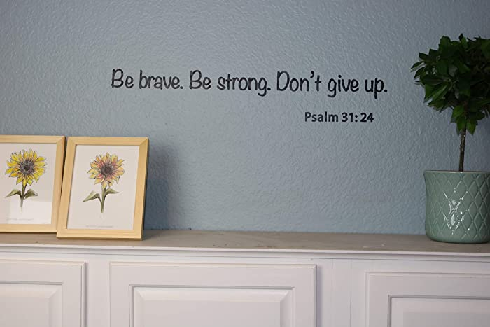 Top 10 Do Not Give Up Home Wall Decor