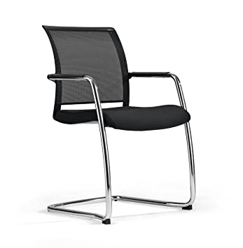Awesome Milani Zed Chair On Sleigh Faux Leather Dark Grey Amazon Co Spiritservingveterans Wood Chair Design Ideas Spiritservingveteransorg