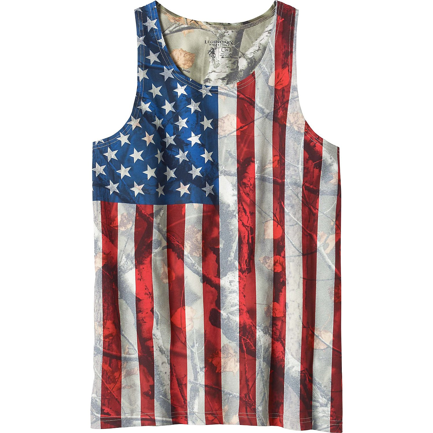 Legendary Whitetails Mens Camo Nation Tank