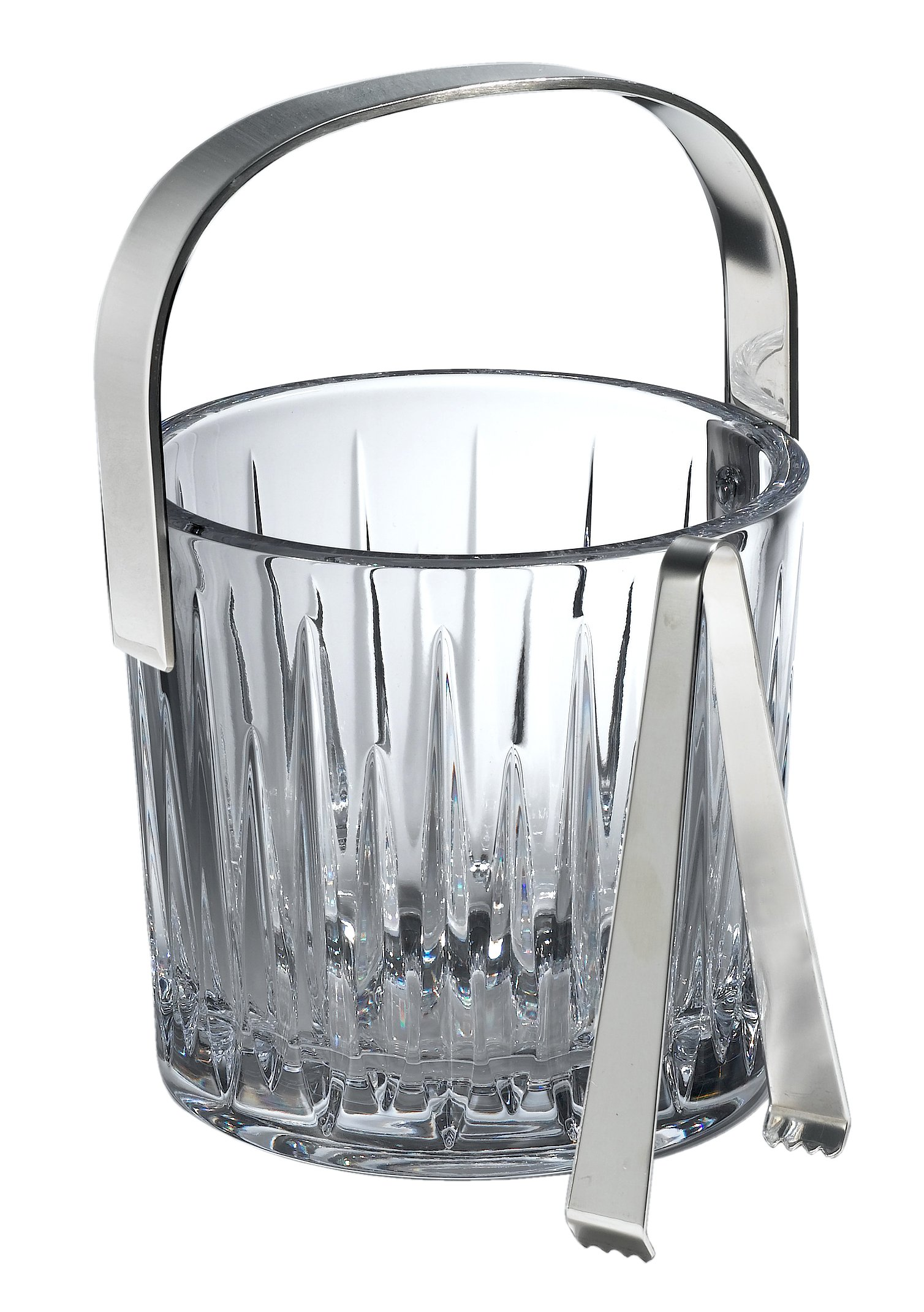 Reed & Barton Crystal Soho Ice Bucket