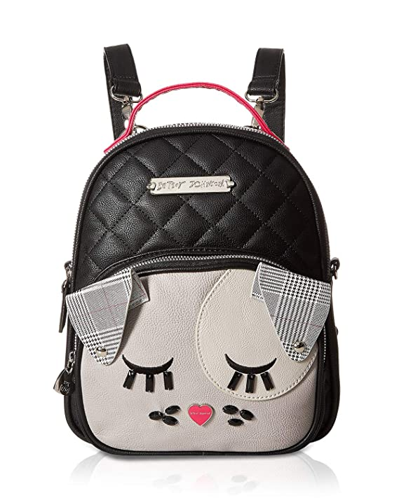Amazon.com | Betsey Johnson Womens Convertible Backpack Black One Size | Casual Daypacks