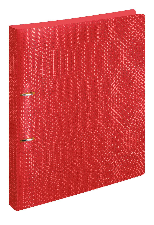 Veloflex 1141721 Velocolor Carpeta de anillas Mecanismo A4 polipropileno 2-Anillo Rojo