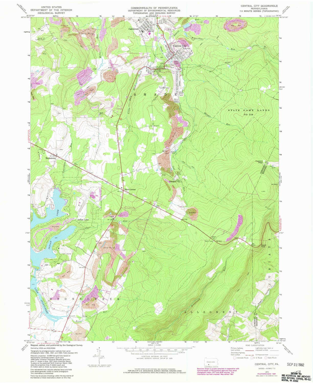 Amazon.com : YellowMaps Central City PA topo map, 1:24000 ... on indian lake central city pa, map of pennsylvania ny border, map of center city pa, map of central city ne, south central pa, topographic map of central pa, pennsylvania county map pa, map of lancaster pa city streets, map se pa, counties in central pa, map of central pennsylvania, map of oakland and surrounding cities, map of center city philadelphia, old maps of western pa, map of west central pa, map of central pa area, map york pa, road map of central pa, city of uniontown pa, map of center city phila,