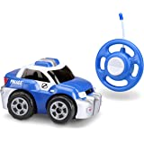 Kid Galaxy My First RC Police Car. Toddler Remote Control Toy, Blue, 27 MHz