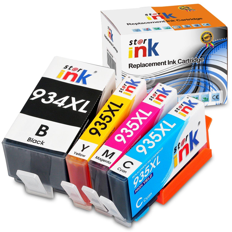 Starink - Cartuchos de Tinta compatibles con HP 934XL 935XL 934 ...