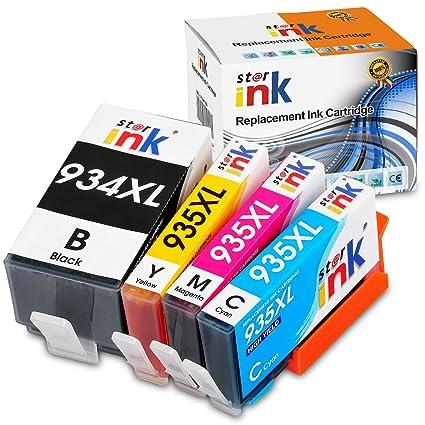 Starink - Cartuchos de Tinta compatibles con HP 934XL 935XL ...