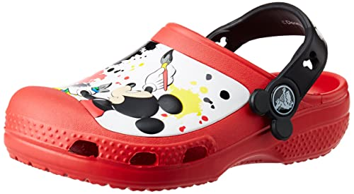 8eeee9254e6edb crocs Kids Unisex CC Mickey Paint Splatter Red Rubber Clogs and Mules -  C12C13  Buy Online at Low Prices in India - Amazon.in