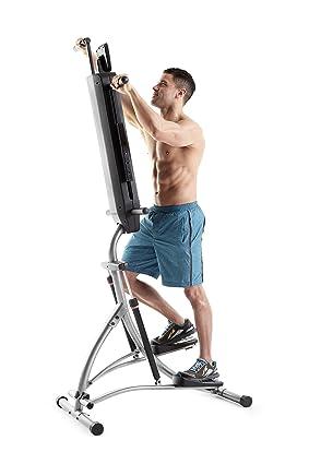 man training on Weslo