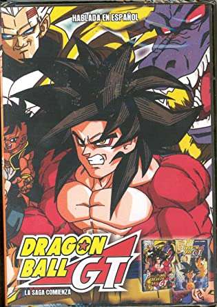 Dragon Ball Gt La Saga Comienza Vol 1 En Espanol Ntsc Region 1 Latin American Import Cine Y Tv