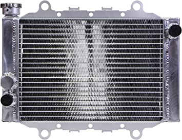Aluminum radiator for YAMAHA GRIZZLY 400 450 2007-2014 07 08 09 10 11 12 13 14