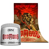 """Special Edition GN Laboratories Godmode Pre-Workout Hardcore Booster Trainingsbooster Bodybuilding 150g (Lemon Ice - Zitrone) inkl. Poster """"Nach Beast Mode kommt..."""""""