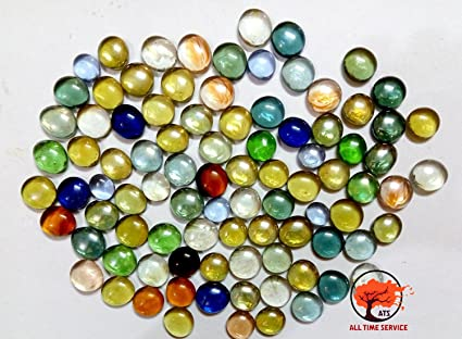 Ats Decorative Glass Pebbles With Colourful Vase Fillers For Home