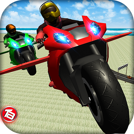 (Motorcycle Flying Simulator Game: Drift Bike Race Top Free)