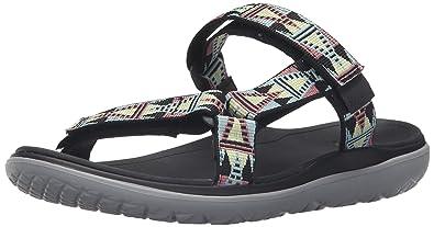 bc3750d4b33b Teva Women s W Terra-Float Lexi Sandal Mosaic Black Multi 5 ...