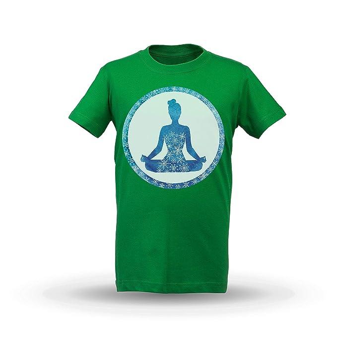 KrisTalas niños Camiseta de Las niñas Mandala India ...