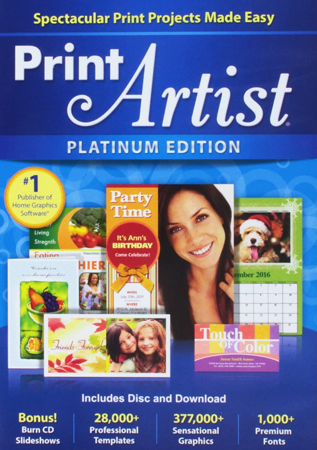 Amazon Print Artist Platinum 25