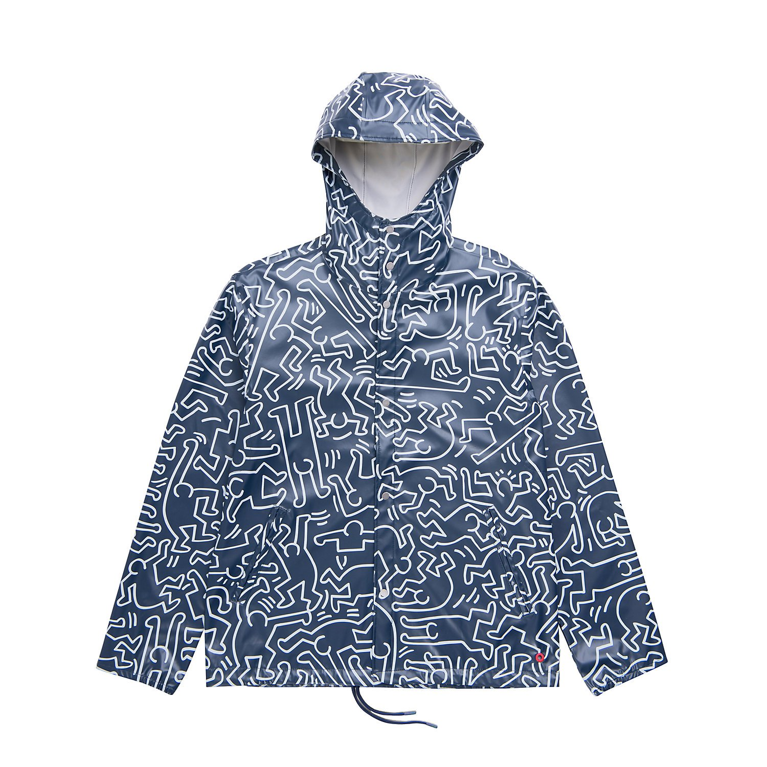 a34e6888b64 Herschel Supply Co. Men s Forecast Hooded Waterproof Coaches Jacket at  Amazon Men s Clothing store