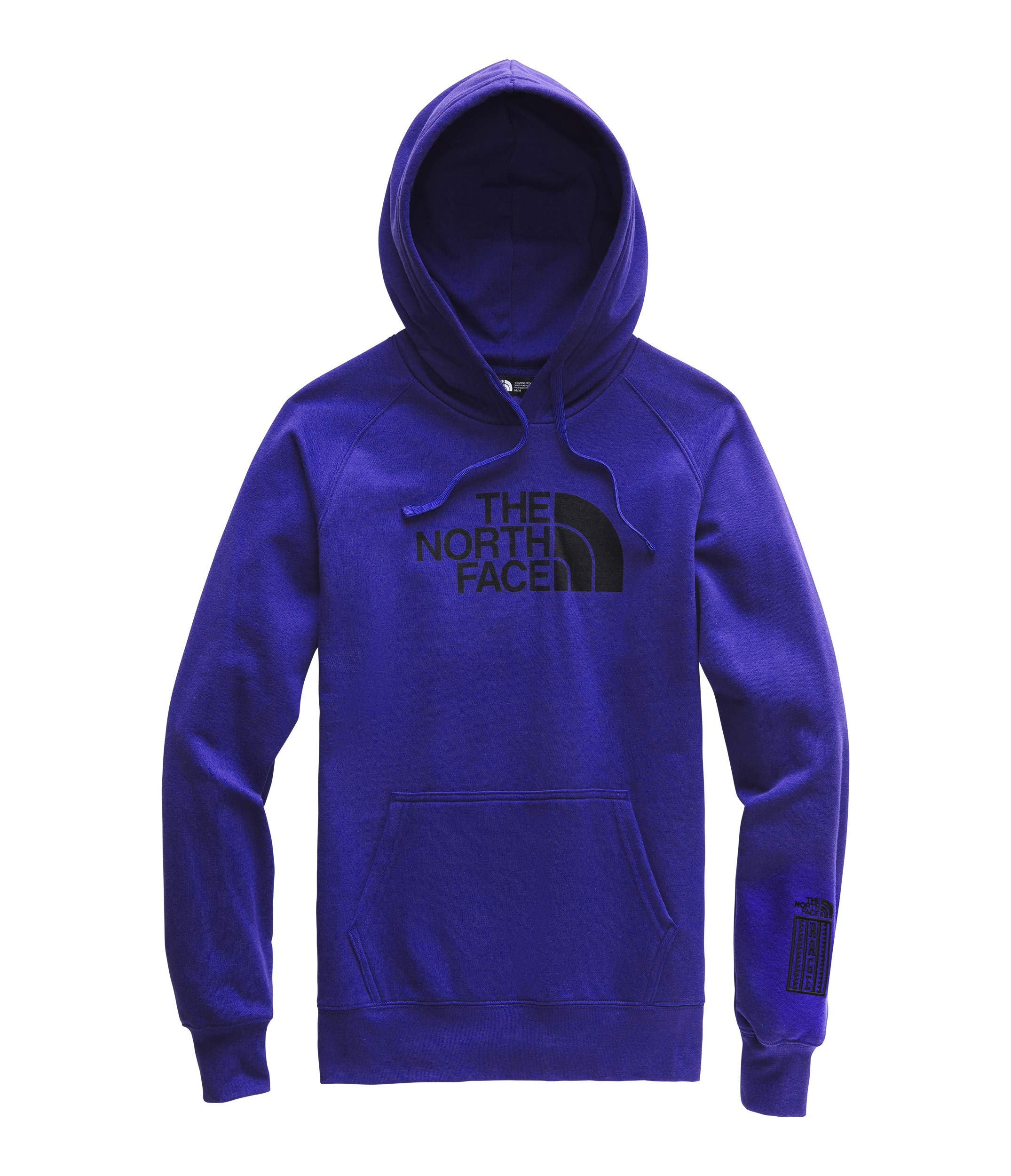 The North Face Women's Half Dome Pullover Hoodie, Aztec Blue/TNF Black, XS by The North Face