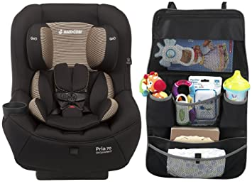 Maxi Cosi Pria 70 Convertible Car Seat With Easy Clean Fabric And Backseat Organizer