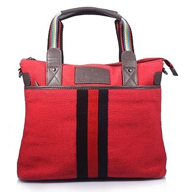 2a4c7cb580c0 Amazon.com  Giant Roots Women s Designer Canvas Shoulder Bag - Red ...