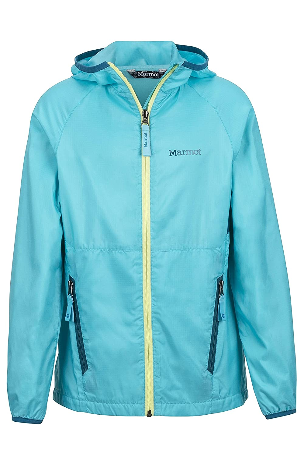 Marmot Ether Girls' Lightweight Hooded Windbreaker Jacket