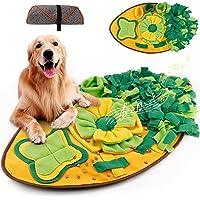 Amzeeniu Snuffeltapijt kat huisdier snuffelmat snuffelmat ruiken training snuffeldeken zoete tapijt Leaf Shape hond…