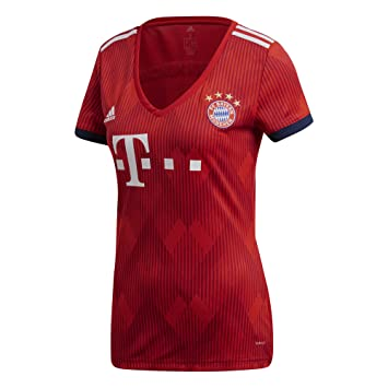 promo code ea254 cbca4 Amazon.com : adidas 2018-2019 Bayern Munich Home Womens ...