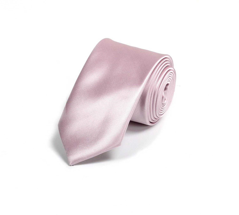 Pontto - Corbata - para hombre multicolor lila Medium: Amazon.es ...