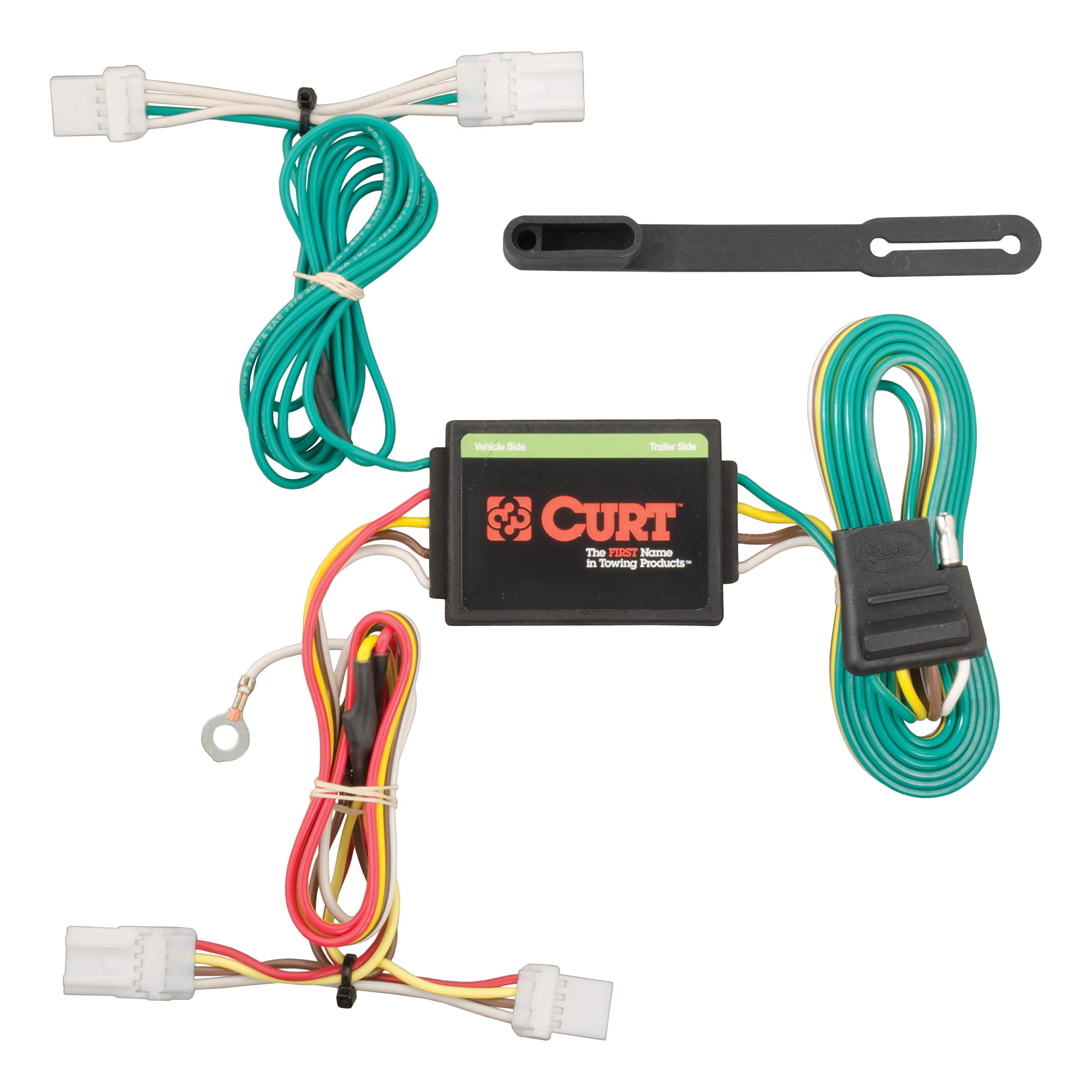 CURT 56228 Vehicle-Side Custom 4-Pin Trailer Wiring Harness for Select Kia Forte5 by CURT