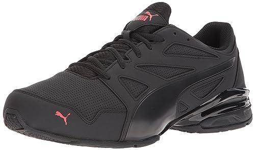 new concept bbafc 219ad PUMA Men s Tazon Modern SL FM Sneaker,puma Black-high Risk red,7