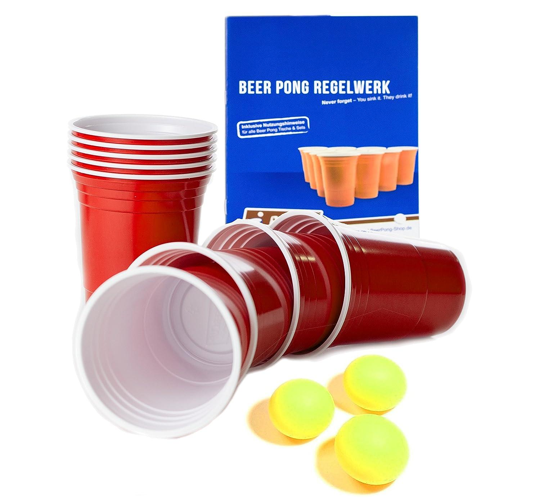 Beer Pong Luftmatratze - Neon Design - inkl. Seilen & Halterungen ...