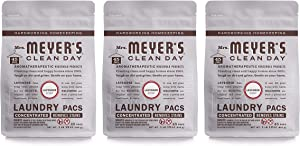 Mrs. Meyer's Clean Day Automatic Dish Packs, Lavender, 20 ct, 3 un