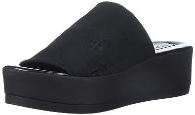1fec045a9458 Steve Madden Women s Slinky Platform Sandal Black 6 ...