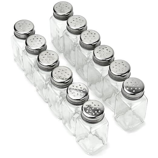 Amazon.com: 12 unidades de especieros, sal y pimienta ...