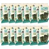 Organic Kimnori Seasoned Roasted Seaweed Snacks - 4g X 12 Pack Net 1.69 oz (48g) Kim Nori - 12 Individual Packs 12 Pack…