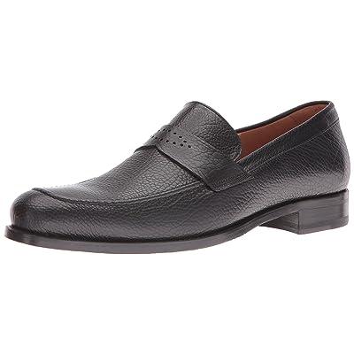 Mezlan Men's Greci Slip-On Loafer, Black, 9 UK/9 M US | Loafers & Slip-Ons