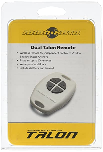 Minnkota 1810251 Talon 4 Button Remote: Amazon ca: Automotive